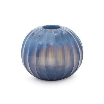 Lida Vase, Indigo Blue
