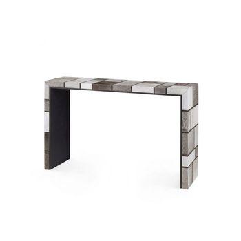Mondrian Console, Gray