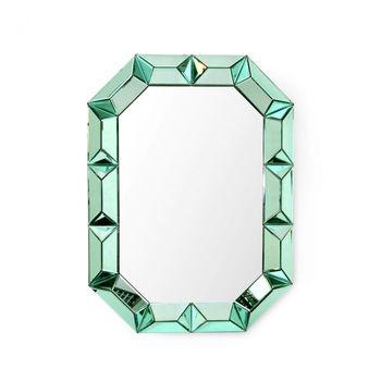 Romano Wall Mirror, Emerald Green