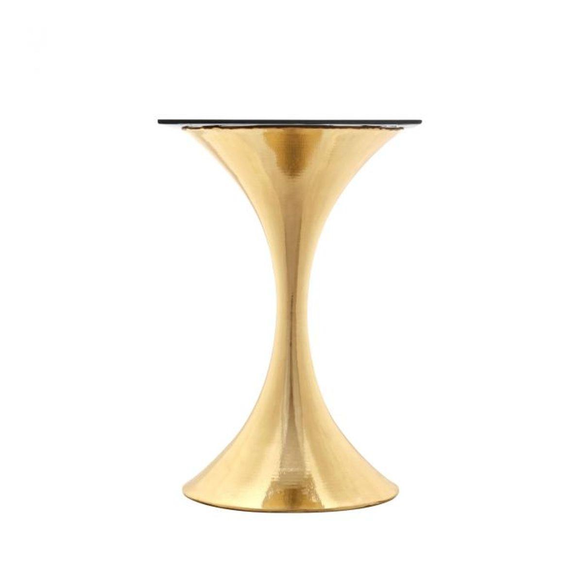 Stockholm Center Dining Table Base, Brass