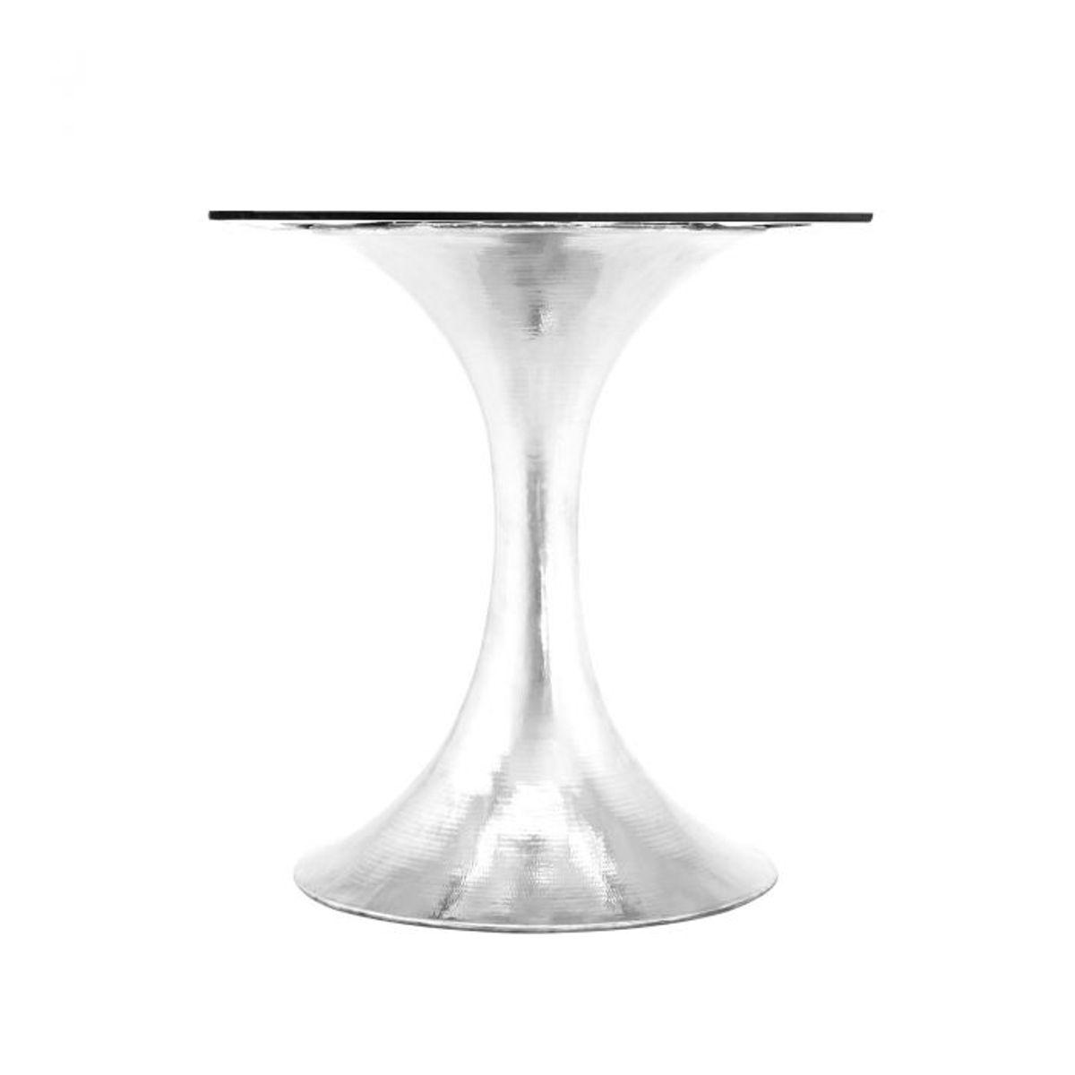 Stockholm Dining Table Base, Nickel