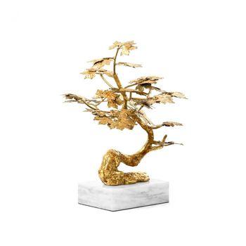 Tivoli Statue, Gold