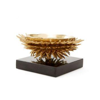 Urchin Bowl, Brass