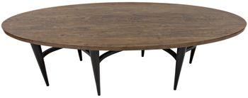 Constantia Oval Dining Table, Walnut/Alder