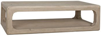 Reclaimed Lumber Jean Coffee Table