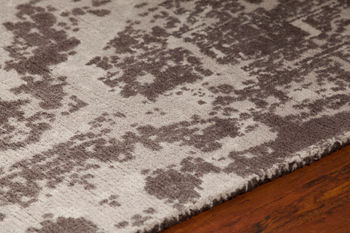 """Wool Area Rug, 0.75""""H x 93""""W x 126""""D"""