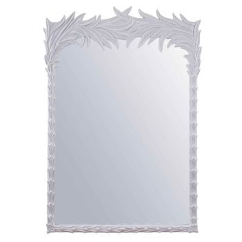 Santa Monica Mirror, White