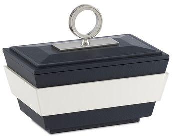 Brash Navy/White Small Box