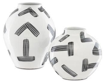 Cipher Vase Set Of 2