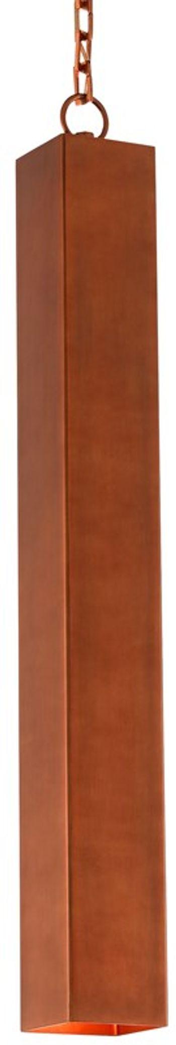 Compton Copper Pendant