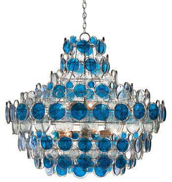 Galahad Blue Chandelier