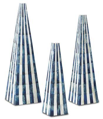 Ossian Blue Obelisk Set