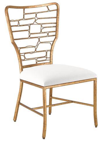 Vinton Muslin Chair