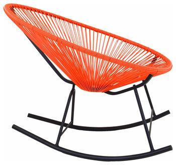 Acapulco Rocking Chair, Orange