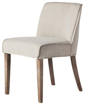 Ariel Dining Chair, Tan