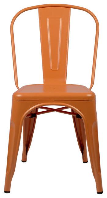 Bastille Side Chair, Orange