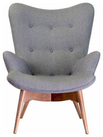 Contour Chair, Dark Gray