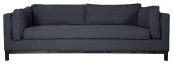 Lexington Sofa, Charcoal Gray