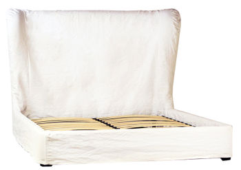 Barnes Bed Queen - White