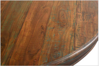"""Timeless Round Dining Table 63"""""""