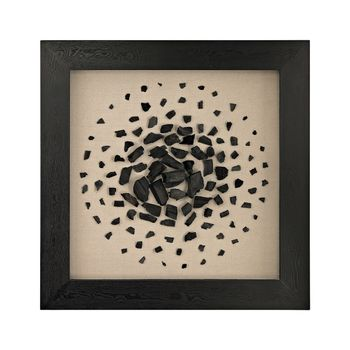 Black And White Carbon Shadow Box