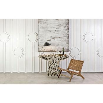 Quatarra Wall Decor In Neutral And Cream