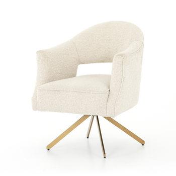 Adara Desk Chair-Knoll Natural