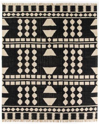 Argus Block Pattern Rug, 8X10'
