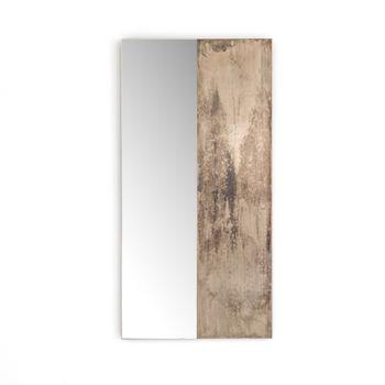 Beaufort Mirror-Antique Nickel