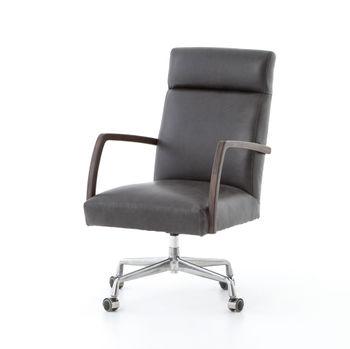 Bryson Desk Chair-Chaps Ebony