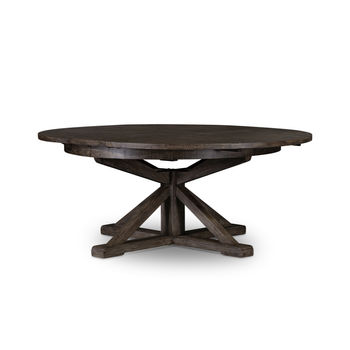 "Cintra Extension Dining Table-63""-Blk Ol"
