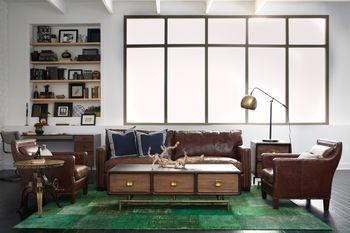 """Larkin Sofa-72""""-Cigar"""