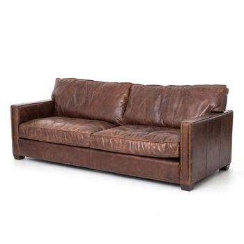 """Larkin Sofa-88""""-Cigar"""