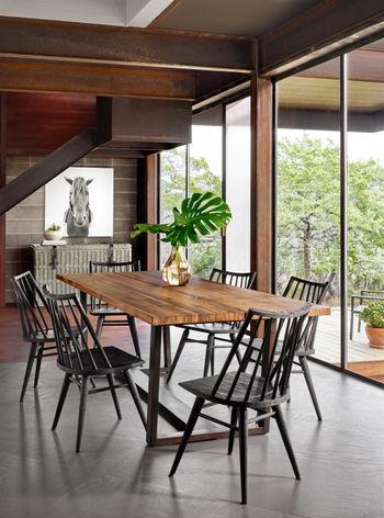 Lewis Windsor Chair-Black Oak