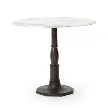 """Lucy Bistro Table-36""""-Carbon Wash"""