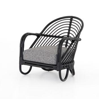 Marina Chair, Ebony Rattan