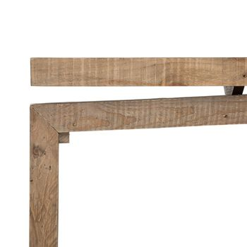 Matthes Console Table, Sierra Rustic Nat