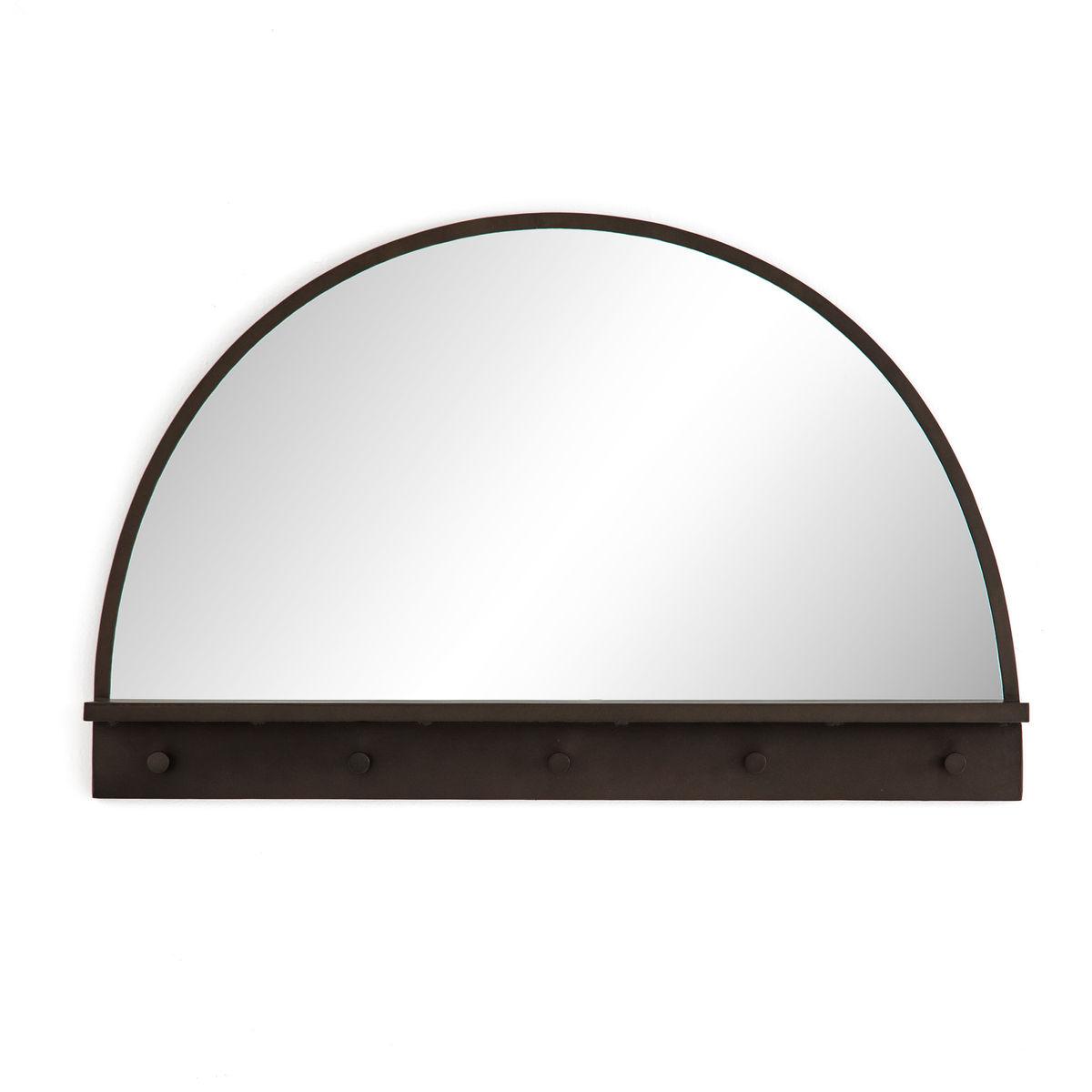 Wellington Entry Mirror-Dark Relic Brass