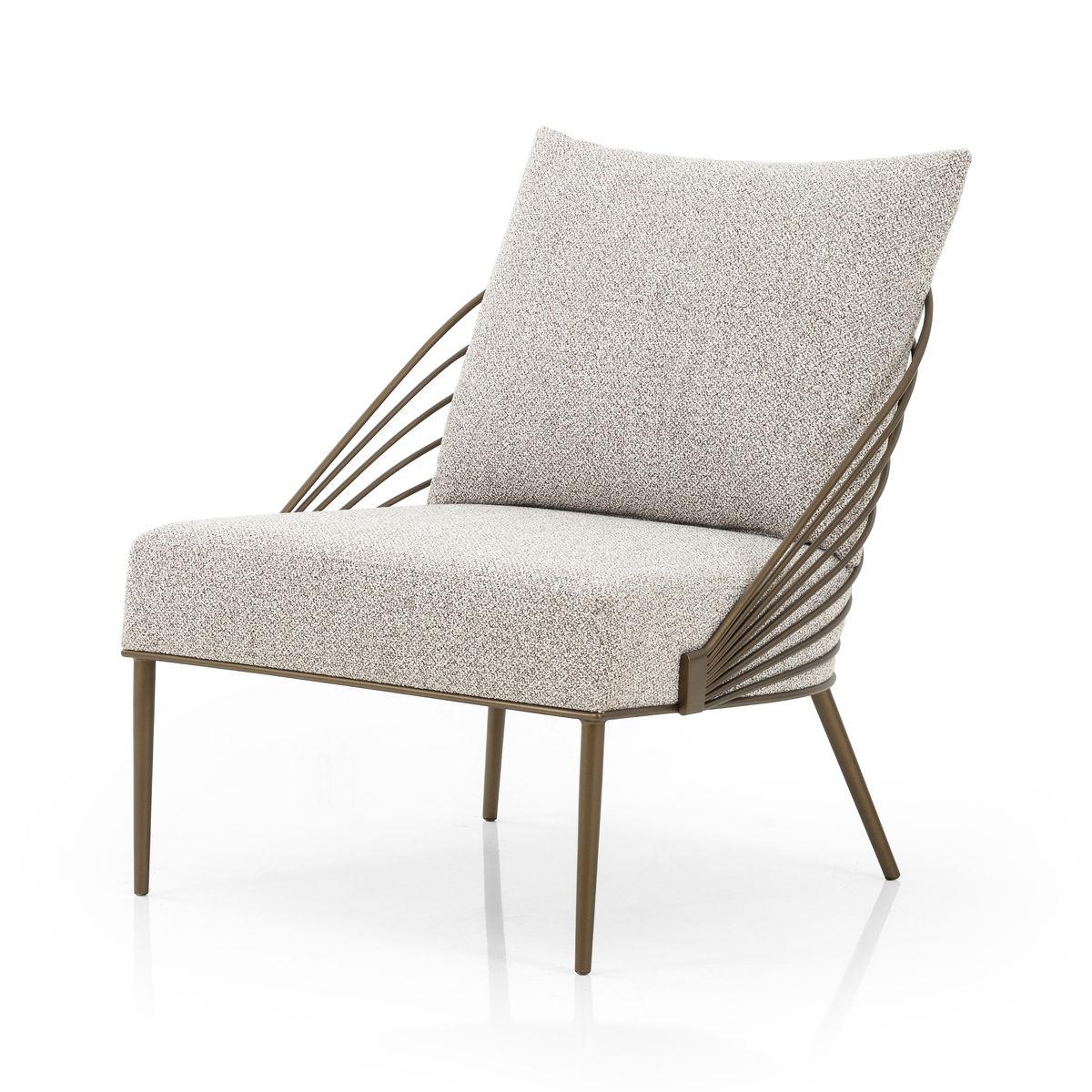 Zinnia Chair- Astor Stone