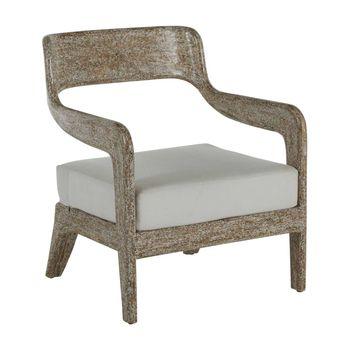 Raya Lounge Chair- White