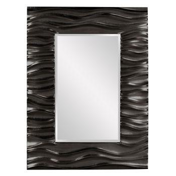 Zenith Mirror - Glossy Black