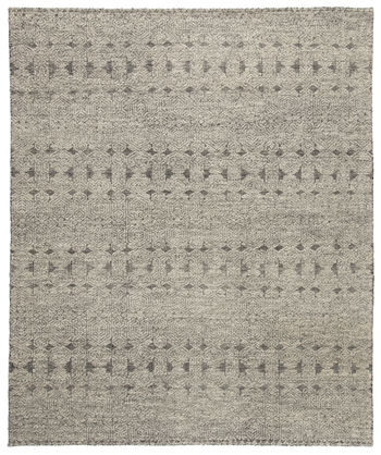 Jaipur Living Abelle Hand-Knotted Tribal Gray/ Black Area Rug (5'X8')