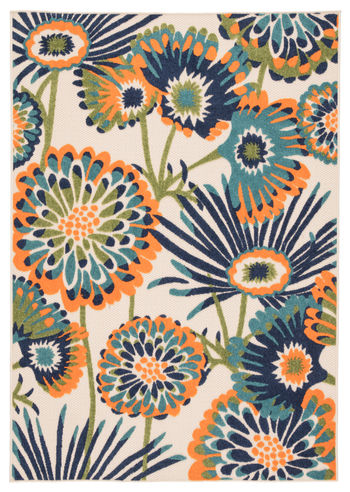 """Jaipur Living Balfour Indoor/ Outdoor Floral Multicolor Area Rug (8'8""""X11'10"""")"""