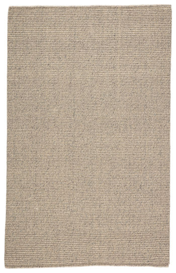 Jaipur Living Chael Natural Solid Gray/ Beige Area Rug (5'X8')