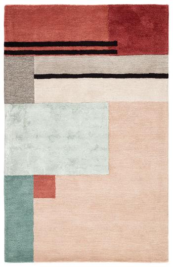Jaipur Living Segment Handmade Geometric Pink/ Red Area Rug (8'X11')