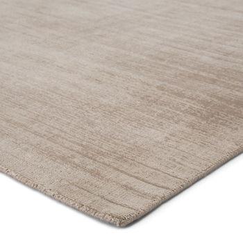 Jaipur Living Yasmin Handmade Solid Gray Area Rug (8'X10')