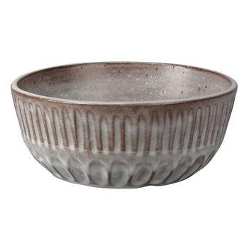Cradle Bowl In Grey Ceramic
