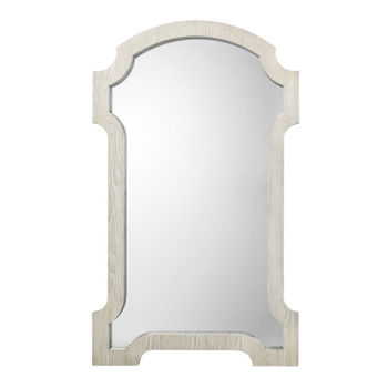 Estate Mirror In Grey Washed Wood