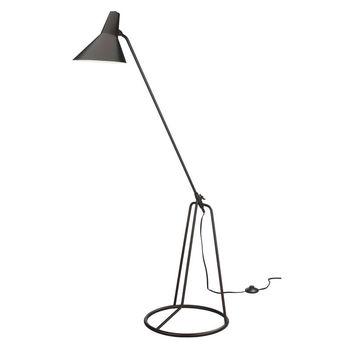 Franco Tri-Pod Floor Lamp In Oiled Bronze