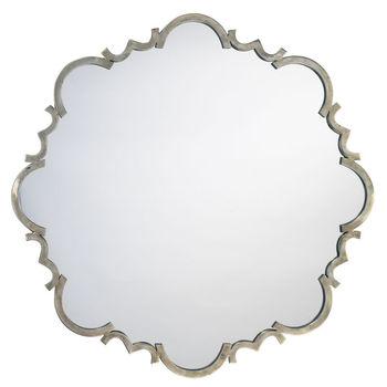 Saint Albans Mirror In Antique Silver